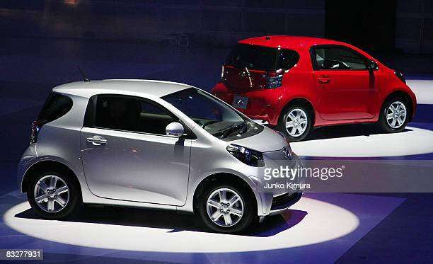 Toyota Motor Corporation S Newly Launched Compact Car Iq Is On Display During An Event At Makuhari