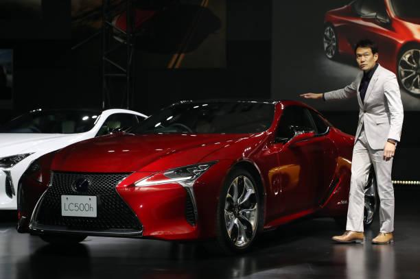 Presentation De La Toyota Lexus Lc Pictures Getty Images