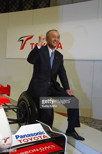 Toyota Motor'S Next Formula One In Tokyo, Japan On March 12, 2007 - Toyota Motor Corporation's president Katsuaki Watanabe announced its 2007...