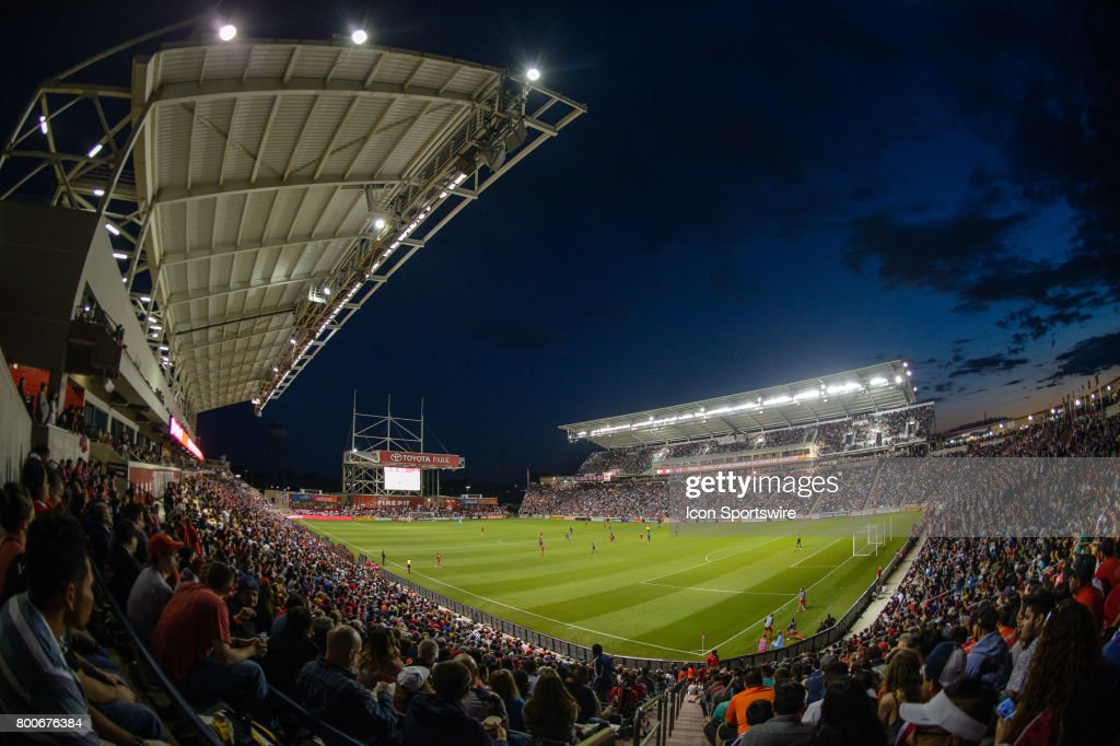 Toyota Park During An MLS Soccer Match Between Orlando City FC And The  Chicago Fire On