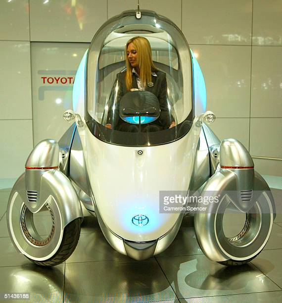 Toyota PM concept is displayed during the Australian International Motorshow at the Darling Harbour Convention Centre October 7 2004 in Sydney...