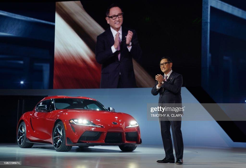 US-ECONOMY-DETROIT-AUTO : News Photo