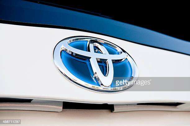 toyota prius hybrid - toyota motor co stock pictures, royalty-free photos & images