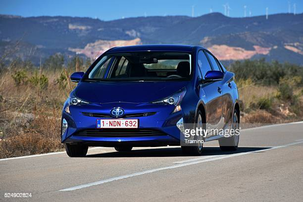 Toyota Prius on the road