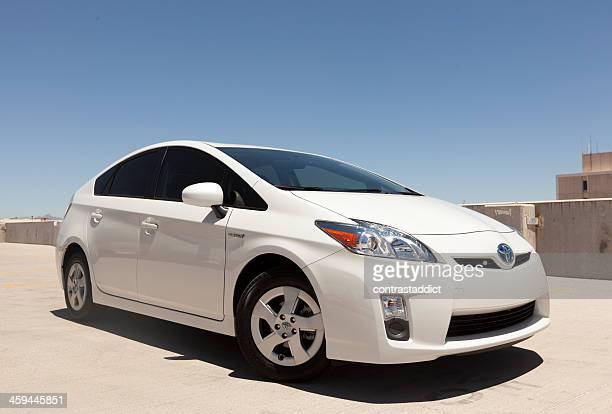 toyota prius - toyota motor co stock pictures, royalty-free photos & images