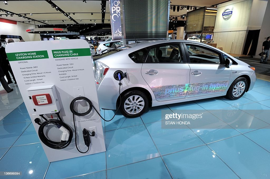 Toyota Prius Plug In Hybrid Car With Mod News Photo