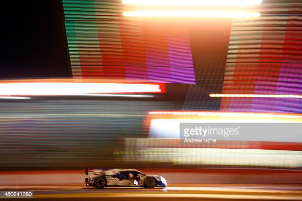 Toyota Racing, Toyota TS 040 - Hybrid of Anthony Davidson, Nicolas Lapierre, Sébastien Buemi on June 15, 2014 in Le Mans, France.