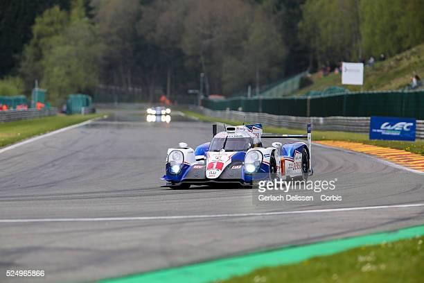 Toyota Racing Toyota TS040-Hybrid of Anthony Davidson / Sebastien Buemi / Kabuki Nakanjima in action during Round 2 of the 2015 FIA World Endurance...