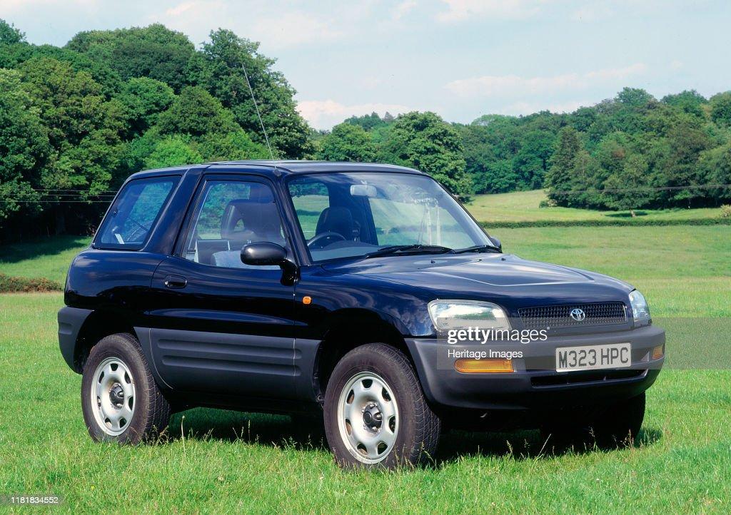 1995 Toyota Rav4. Creator: Unknown. : News Photo