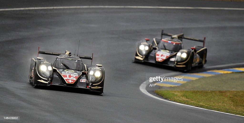 Toyota Rebellion Racing N°12 driven by G : News Photo