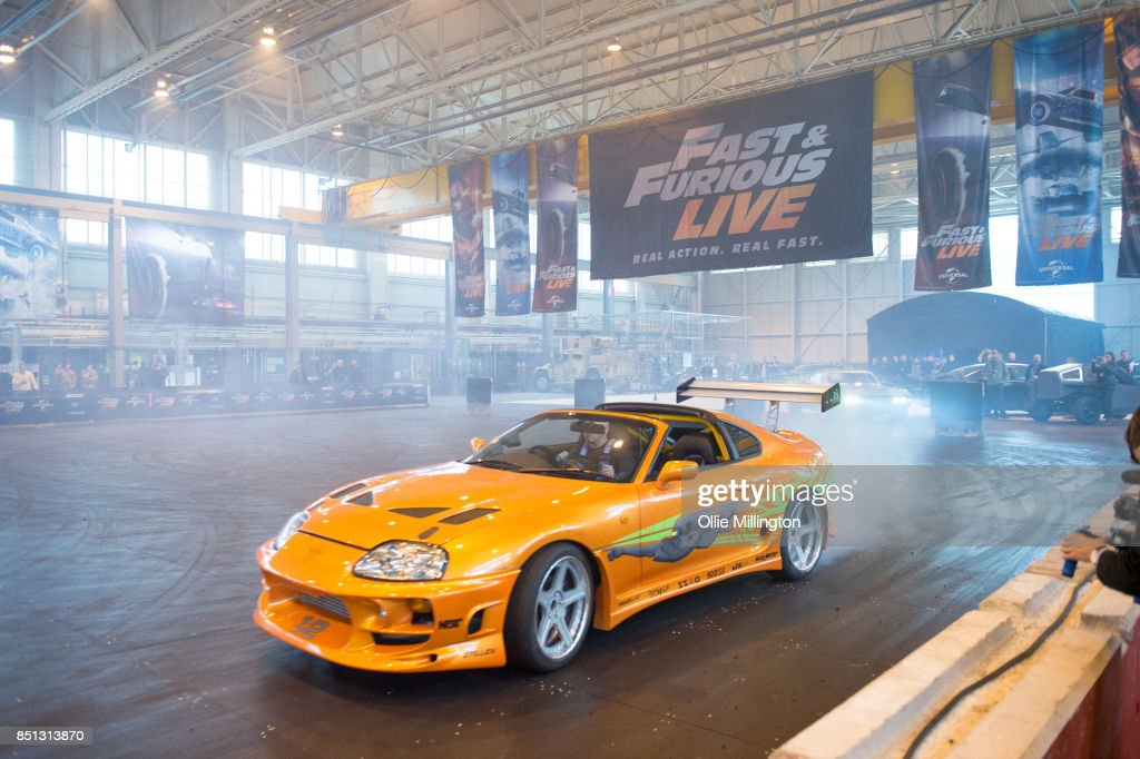 Toyota Supra MK IV used on screen by Paul Walker in The Fast and the