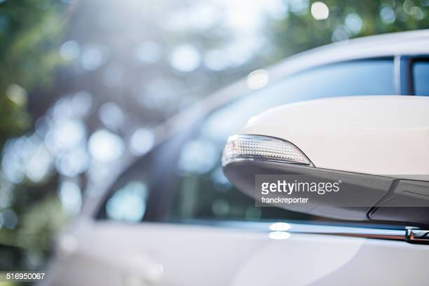 toyota yaris car profile mirror - toyota motor co stock pictures, royalty-free photos & images