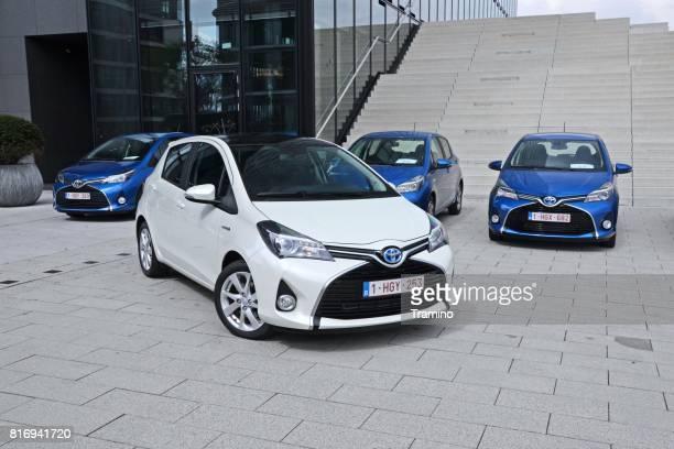 Toyota Yaris Hybrid vehicles