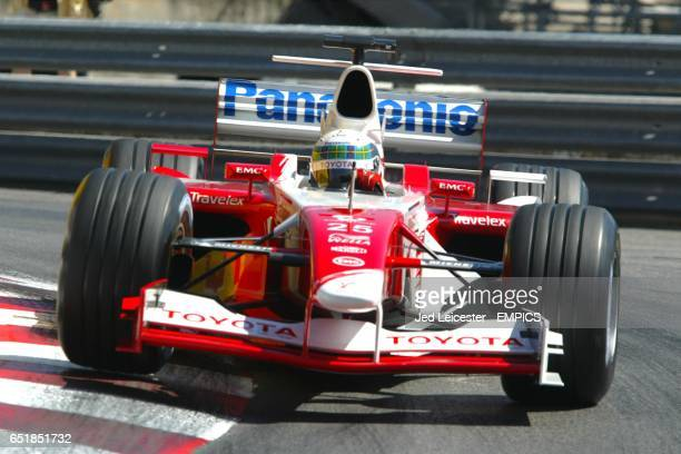 Toyota's Allan McNish in action