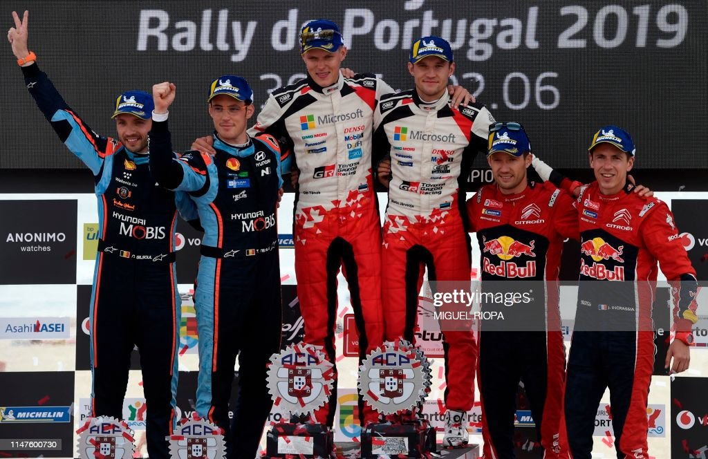 AUTO-RALLY-WRC-POR : News Photo
