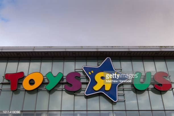 Toys R Us store in Cardiff, Wales, UK on April 15, 2018 in Cardiff, United Kingdom. Toys R Us went into administration on February 28 with the loss...