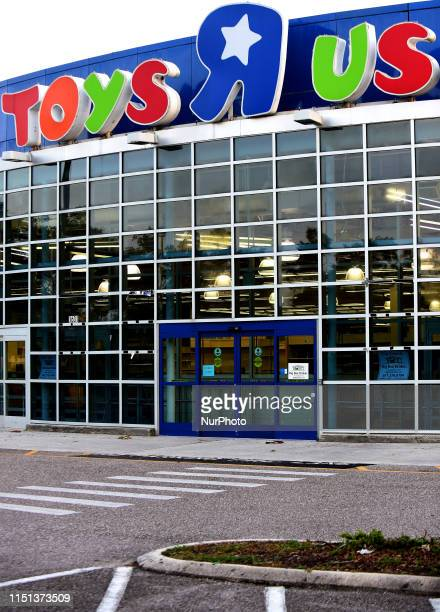 Toys R Us store that was shuttered in 2018 is seen on June 21, 2019 in Orlando, Florida. Toys R Us is reportedly planning to reopen some stores in...