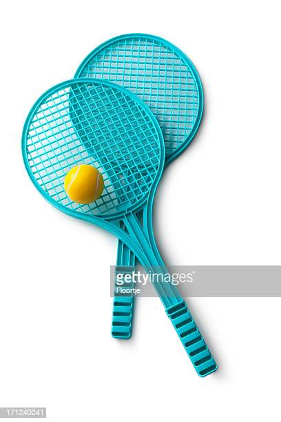 toys: tennis rackets - racquet stock pictures, royalty-free photos & images