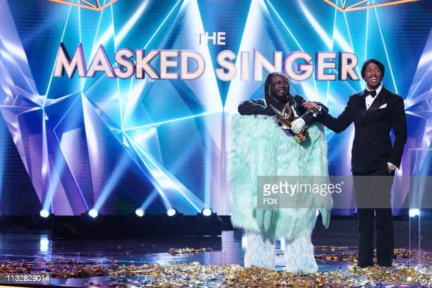 Pain and host Nick Cannon in the special twohour Road to the Finals / Season Finale The Final Mask is Lifted season finale episode of THE MASKED...