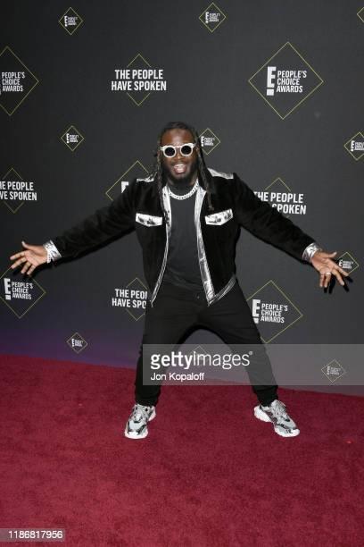 Pain attends the 2019 E People's Choice Awards at Barker Hangar on November 10 2019 in Santa Monica California