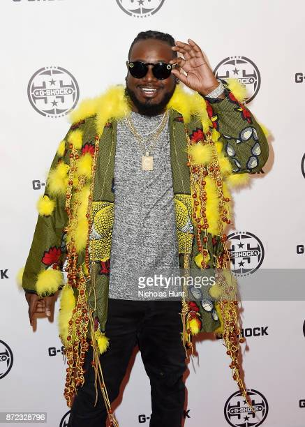 Pain attends the GShock 35th Anniversary Celebration at The Theater at Madison Square Garden on November 9 2017 in New York City