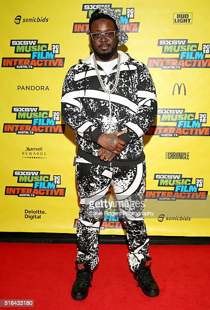 Pain attends the TPain music panel during the 2016 SXSW Music Film Interactive Festivalon March 18 2016 in Austin Texas