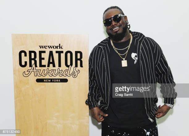 Pain attends WeWork Celebrates the New York Creator Awards at Skylight Clarkson Sq on November 16 2017 in New York City
