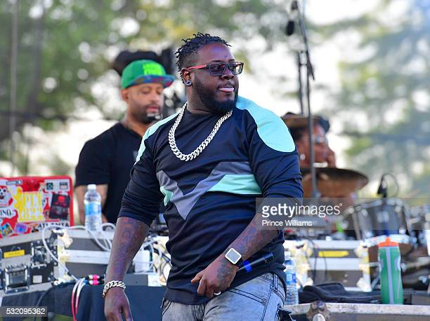 Pain performs at the Atlanta Funk Fest 2016 at Central Park Place on May 13, 2016 in Atlanta, Georgia.