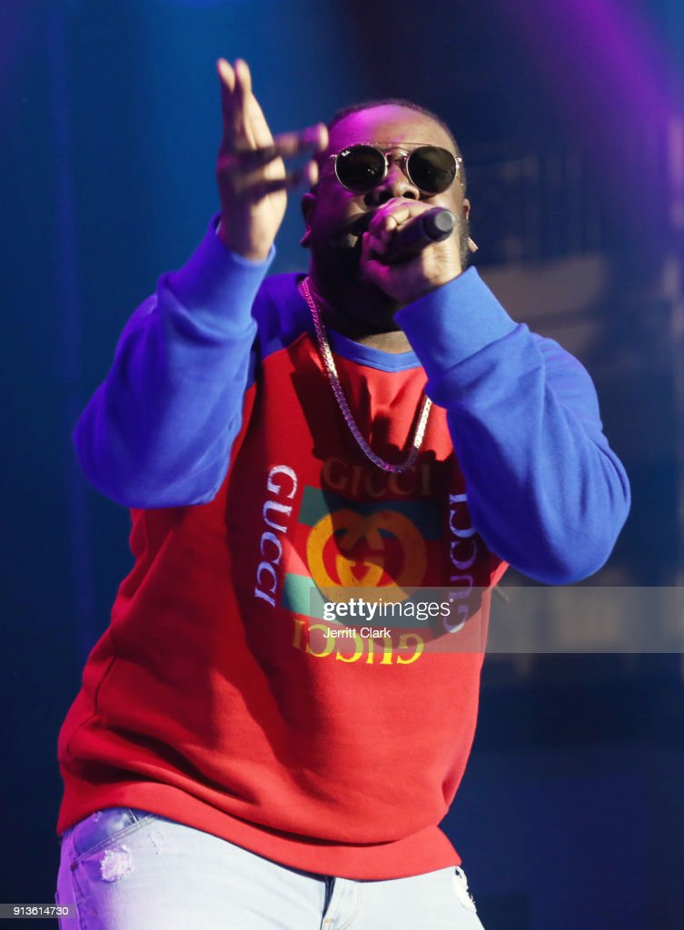 T-Pain performs onstage at Rolling Stone Live: Minneapolis presented by Mercedes-Benz and TIDAL. Produced in partnership with Talent Resources Sports on February 2, 2018 in Minneapolis, Minnesota.