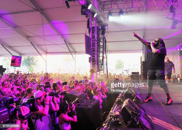 Pain performs onstage at That Tent during day 2 of the 2018 Bonnaroo Arts And Music Festival on June 8 2018 in Manchester Tennessee