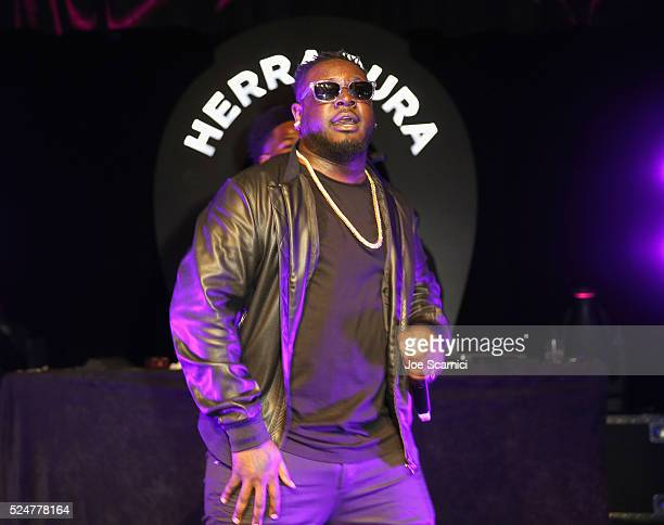 Pain performs onstage during Casa Herradura Visits Los Angeles on April 26, 2016 in Los Angeles, California.