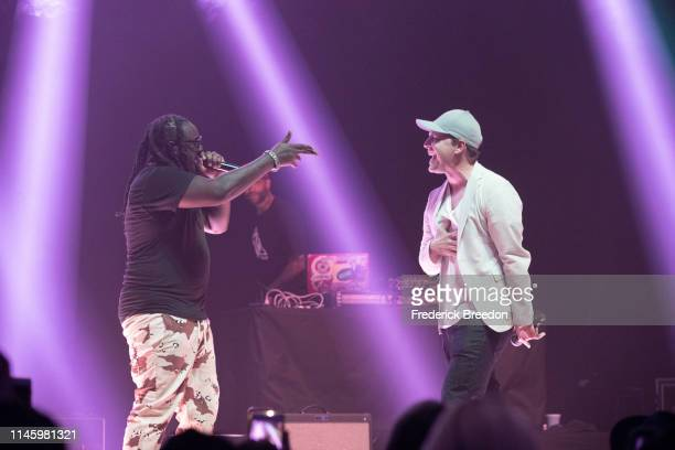 Pain performs with Gavin DeGraw at the 2019 Grammy Block Party at War Memorial Auditorium on April 29, 2019 in Nashville, Tennessee.