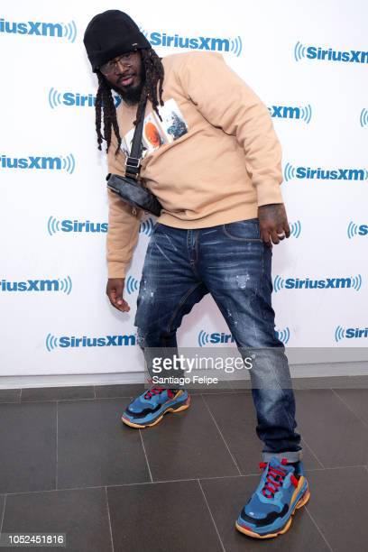 Pain visits SiriusXM Studios on October 18, 2018 in New York City.