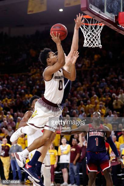 Tra Holder of the Arizona State Sun Devils shoots during the second half of the college basketball game against the Arizona Wildcats at Wells Fargo...