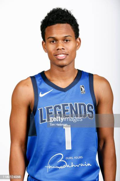 Tra Holder of the Texas Legends poses for a headshot during G League Media Day on November 4 2019 at Comerica Center in Frisco Texas NOTE TO USER...