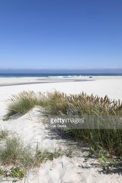 traba beach. laxe. galicia. spain - a coruna stock pictures, royalty-free photos & images