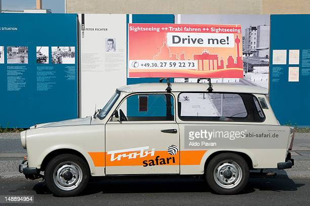 Trabant for rent.