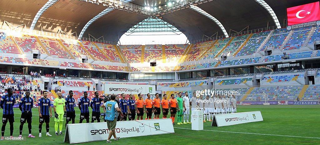 Turkish Spor Toto Super League -  Trabzonspor vs Kayseri Erciyesspor : News Photo