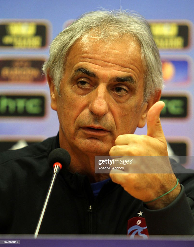 Trabzonspor pre-match press conference : News Photo