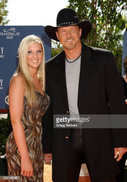 Trace Adkins Daughter Tarah during 38th Annual Academy of Country Music Awards Arrivals at Mandalay Bay Event Center in Las Vegas Nevada United States
