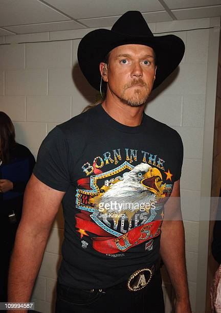 Trace Adkins during 2006 CMT Music Awards Backstage and Audience at Curb Events Center at Belmont University in Nashville Tennessee United States