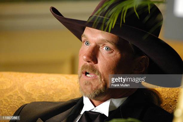Trace Adkins during ASCAP 2004 Country Music Awards Backstage at Opryland Hotel and Resort in Nashville Tennessee United States