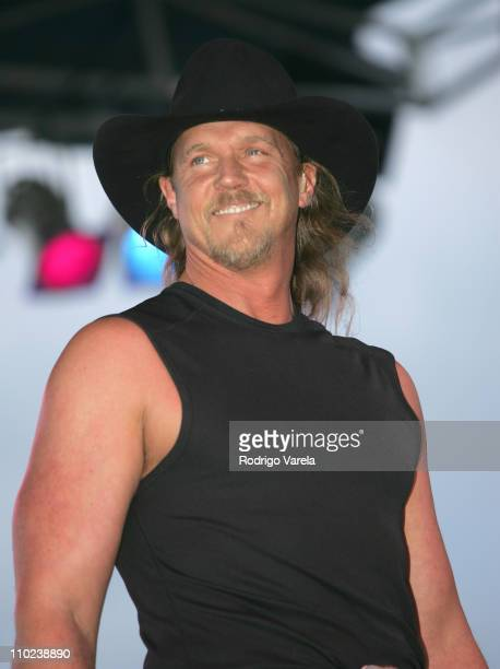 Trace Adkins during Orange Bowl Beach Bash 2005 Concert at Hollywood Beach in Miami Florida United States