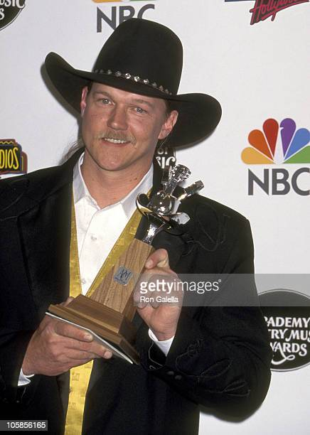Trace Adkins during The 32nd Annual Academy of Country Music Awards Arrivals and Pressroom at Universal Amphitheatre in Universal City California...