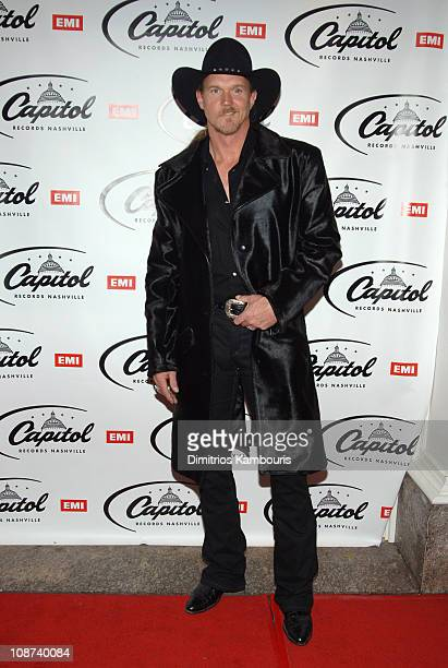 Trace Adkins during The 39th Annual CMA Awards Capital Records Post Party Arrivals at Nikki Beach in New York City New York United States