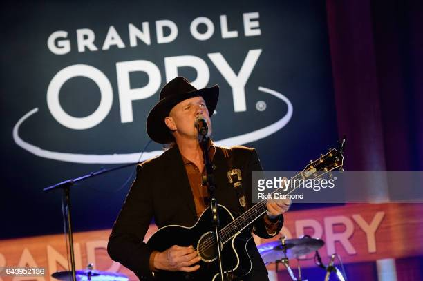 Trace Adkins performs during CRS 2017 Day 1 on February 22 2017 in Nashville Tennessee