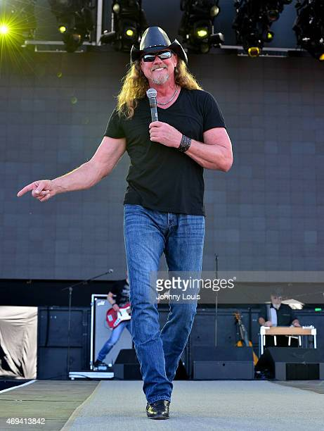 Trace Adkins performs onstage at Tortuga Music Festival on April 11 2015 in Fort Lauderdale Florida