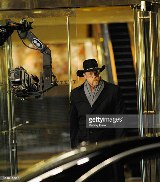 Trace Adkins seen on location for 'The Celebrity Apprentice AllStar' on October 11 2012 in New York City