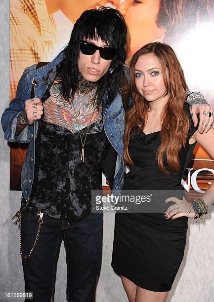 """Trace Cyrus and Brandi Cyrus attends the """"The Last Song"""" Los Angeles Premiere at ArcLight Hollywood on March 25, 2010 in Hollywood, California."""