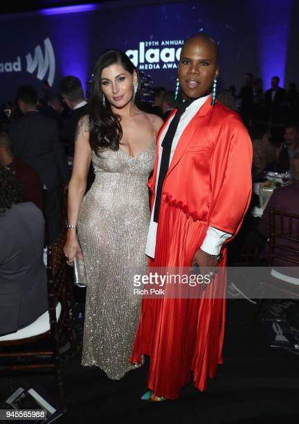 Trace Lysette and Miss Lawrence celebrate achievements in LGBTQ community at the 29th Annual GLAAD Media Awards Los Angeles in partnership with LGBTQ...